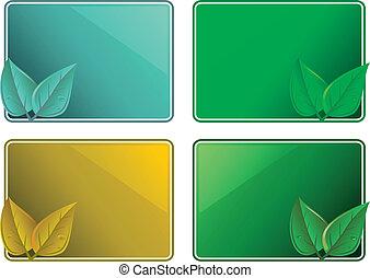 frames eco leaf design