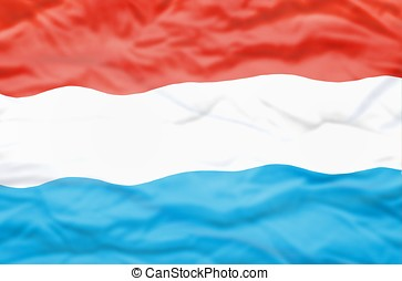 Luxembourg flag.