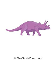 Dinosaur cartoon cute funny monster. Cartoon dinosaurs character animal. Comic dinosaurs kids for game app. Vector ui sign