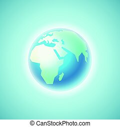 The Earth. Vector illustration