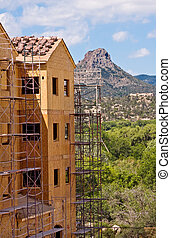 Butte and Construction