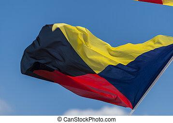 International maritime signal flag, zulu