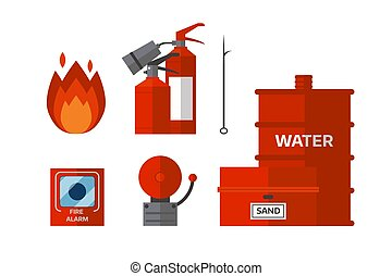 Fire safety equipment emergency tools firefighter safe...