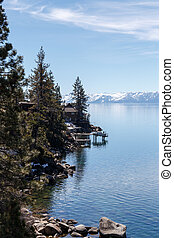 On Lake Tahoe