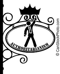 Symbol of Authoritarianism - Vintage Symbol of...