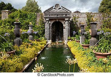 garden flower pond ornamental