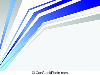 Bright blue tech abstract stripes background