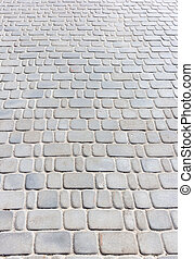 texture of paving stone blocks - abstract background texture...