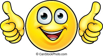 Emoji Thumbs Up Icon