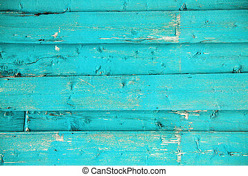 Light Blue Wooden Background With Copy Space For...