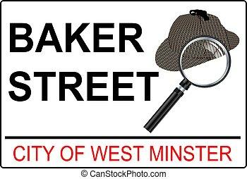 Sherlock holmes baker street
