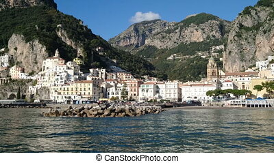 Amalfi, small characteristic village in Southern Italy