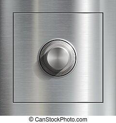 Deposit box. Steel door. - Deposit box and Steel door....