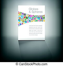 Globes page with understated plain background