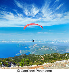 Paragliding - active extreme sports - Active extreme sports...