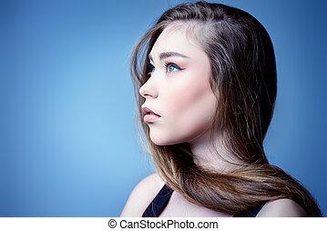 brown hair health