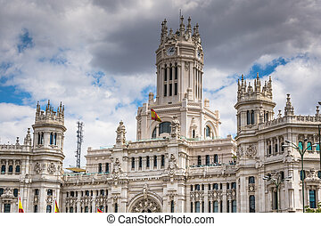 Plaza de la Cibeles (Cybele's Square) - Central Post Office...