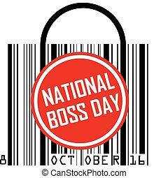 October 16 - National Boss Day