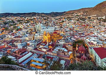 Templo San Diego Jardin Juarez Theater Guanajuato Mexico -...