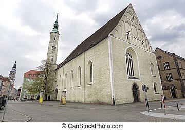 Dreifaltigkeitskirche church in the town of Goerlitz,...