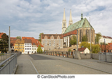 Peterskirche church in the town of Goerlitz, Germany