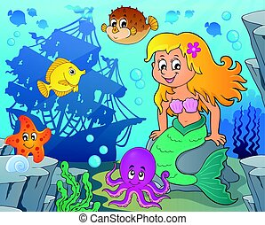 Mermaid topic image 7 - Mermaid topic image illustration.