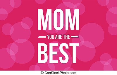 Background of mother day illustration vector