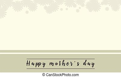 Background of mother day vector illustration