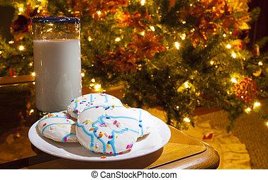 Late night snack for Santa