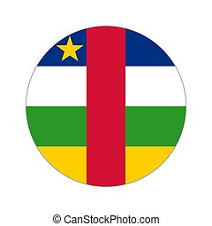 Circular world Flag - Flag, vector illustration circular...