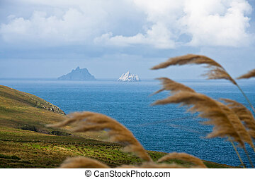 Skellig Michael - little Island in Kerry, Ireland