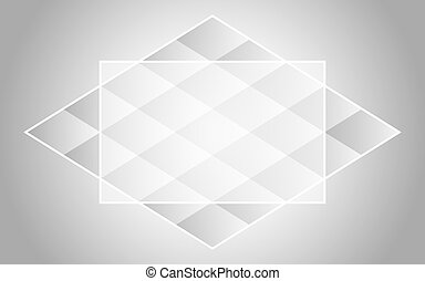 abstract background with geometric figure of a rhombus