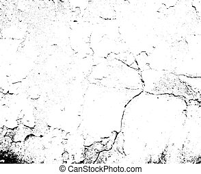 Distressed overlay texture of cracked concrete, stone or...