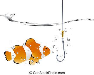 Palhaço, peixe