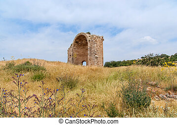 Ruins of the Church of St Anne - Ruins of Crusader Church of...