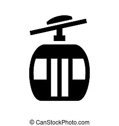 urban transport 16.eps - Black icon isolated on white...