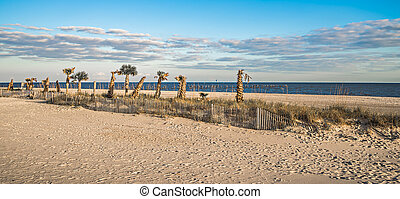 beach scenes on west boulevard in pass christian and...