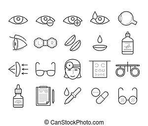 Eyesight medical diagnostic, vision correction. -...