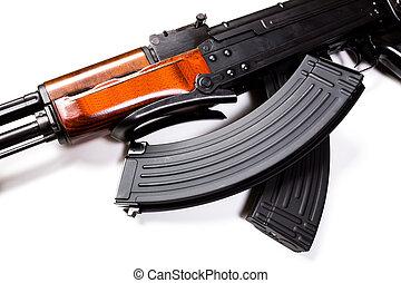 máquina,  Kalashnikov, arma de fuego