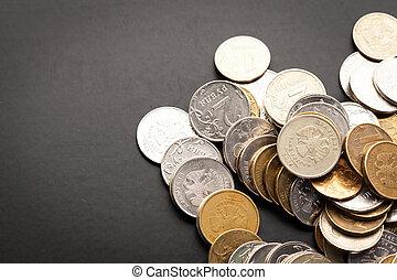 Dinheiro,  -,  rubles, Dinheiro, russo, fim