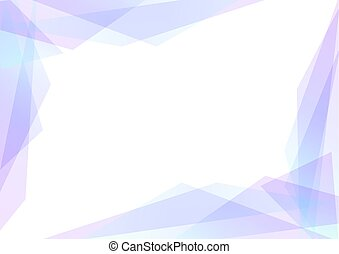 violet and blue geometric spectrum abstract background