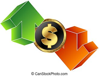 Currency Exchange Symbol - Exchange rate symbol for vector