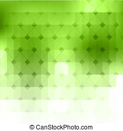Vector abstract green geometric background Vector...
