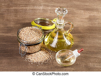 Sesame seeds and oil for the treatment of rhinitis.