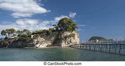 Agios Sostis, small island in Zakynthos