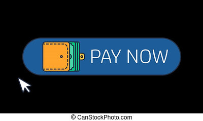 Pay Button Animation - This animation of button helps you to...