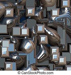 抽象的, 背景, 3D