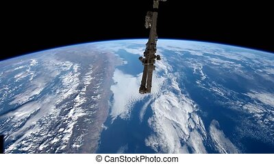 Planet Earth seen from the ISS. Elements of this video...