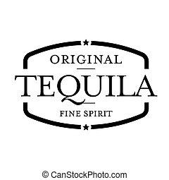 Tequila Vintage stamp vector sign