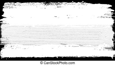abstract paint brush stroke black and white transition...